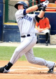 In 75 games at Class A Advanced Salem in 2011, he batted .274/.336/.531. (Will Bentzel/MiLB.com)