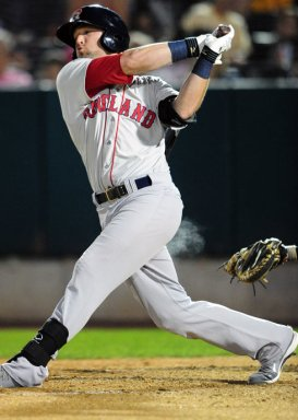 In 122 games at Double-A Portland in 2012, he batted .296/.355/.478. (Will Bentzel/MiLB.com)