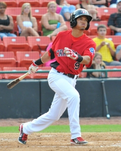 (Tracy Proffitt/Hickory Crawdads)