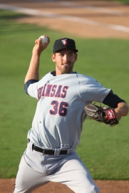 2012 -- Double-A Arkansas -- Shawn E. Davis/MiLB.com