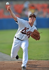 Dylan Bundy at Class A Frederick (Ken Inness/MiLB.com).