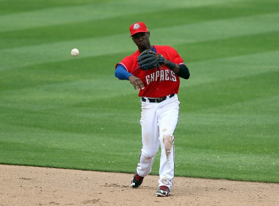 Jurickson Profar's bat hasn't heated up yet, but he has shown good patience at the plate. (Jim Redman/MiLB.com)