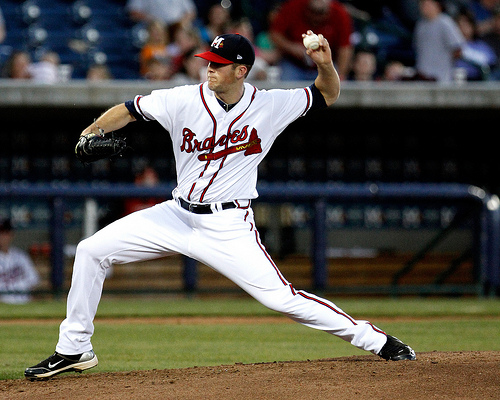 Alex Wood posted a 2.22 ERA with Rome in 2012. (Ed Gardner)