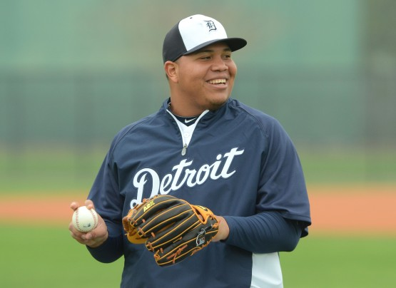Detroit Tigers Workout Day