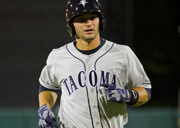 Mike Zunino has had the season's best start among top prospects. (Sara Molina/River Cats)