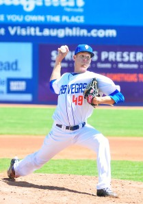 Zack Wheeler Pitcher Las Vegas 51s Baseball Team