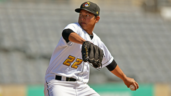 West Virginia Power pitcher Orlando Castro (Ken Inness/MiLB.com)