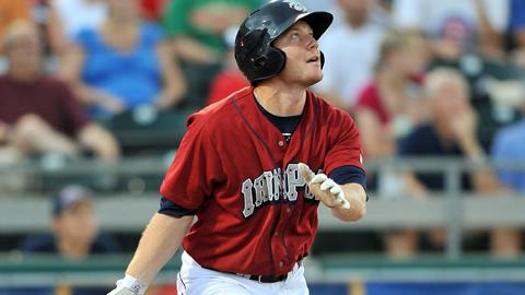 Lehigh Valley IronPigs third baseman Cody Asche (Ken Inness/MiLB.com)