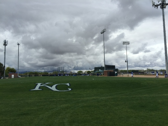 Thursday's weather forced the Royals to cancel their scheduled Minor League games with the Reds.
