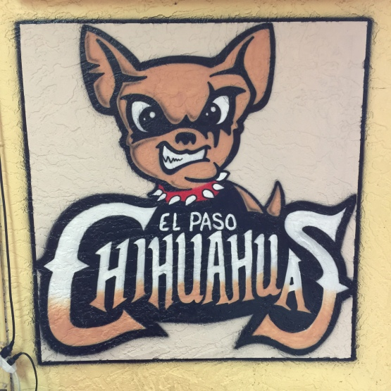The Chihuahuas are not getting into the tamales business in Mesa, but the logo looked good.